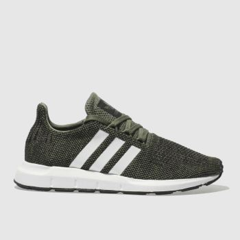 Adidas Khaki Swift Run Unisex Youth