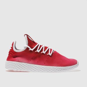 Adidas Red Tennis Pharrell Hu Holi Unisex Youth