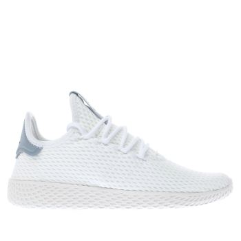 Kids Unisex white   blue adidas pharrell williams tennis hu j ... f8720e21a