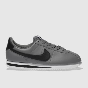 Nike Light Grey Cortez Basic Unisex Youth