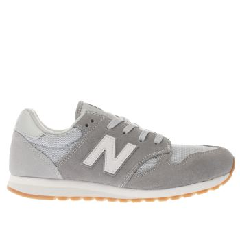 NEW BALANCE GREY 520 YOUTH TRAINERS