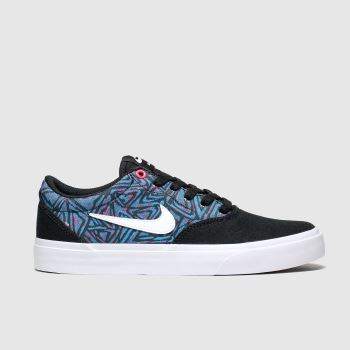 Nike Sb Black and blue Charge Unisex Youth