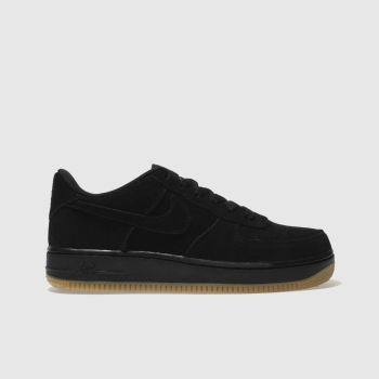 Nike Black Air Force 1 Premium Unisex Youth