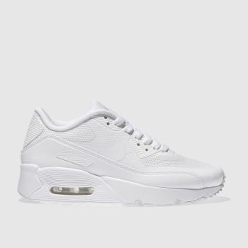 Kids Unisex white nike air max 90 ultra 2.0 trainers  21aa0d2be