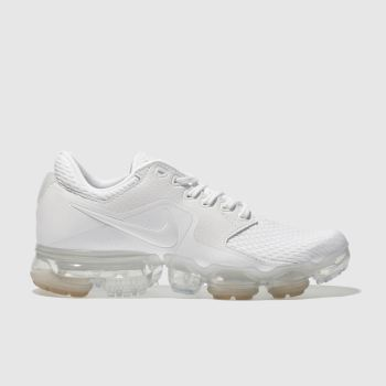 NIKE WHITE AIR VAPORMAX YOUTH TRAINERS