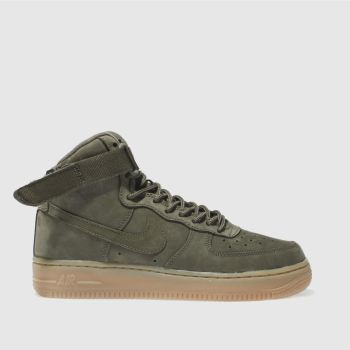 Nike Khaki Air Force 1 High Wb Unisex Youth
