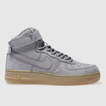 Nike Grey Air Force 1 High Wb Unisex Youth