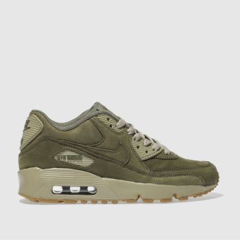 Nike Khaki Air Max 90 Winter Premium Unisex Youth