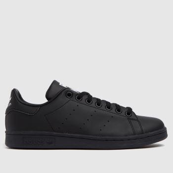adidas Black & White Stan Smith Unisex Youth