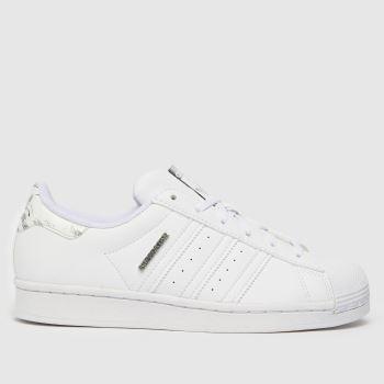 adidas White Superstar Unisex Youth