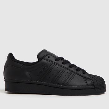 adidas Black Superstar Unisex Youth