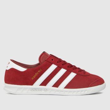 adidas Red Hamburg Yth Unisex Youth