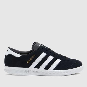 adidas Black & White Hamburg Unisex Youth