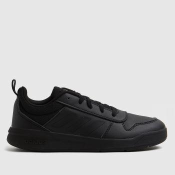 adidas Black Tensaur Lace Unisex Youth