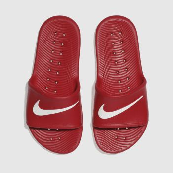 Nike Red KAWA SHOWER Unisex Youth