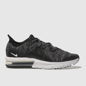 b1dd7b27d49941 Kids Unisex black   white nike air max sequent 3 trainers