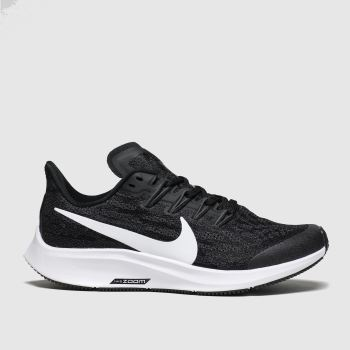 Nike Black & White Air Zoom Pegasus 36 Unisex Youth