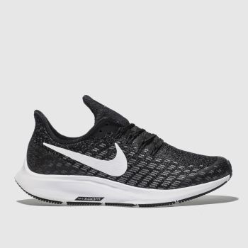 Nike Grey & Black Air Zoom Pegasus 35 Unisex Youth