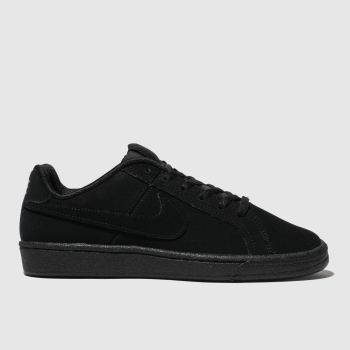 Kids Unisex black nike court royale trainers  ab61fb25e68d0