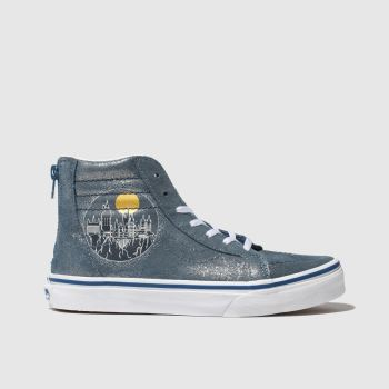 Vans Blue Hp Hogwarts Sk8-Hi Unisex Youth
