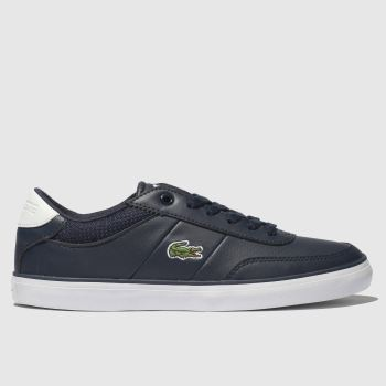 Lacoste Navy & White Court-Master Unisex Youth