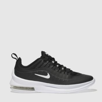 Nike Black & White Air Max Axis Unisex Youth#