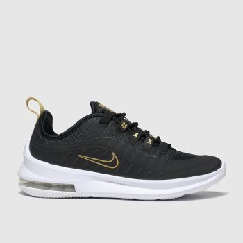 Kids Unisex black & gold nike air max axis trainers | schuh
