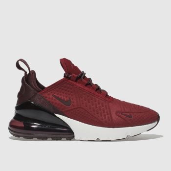 Nike Red Air Max 270 Se Unisex Youth