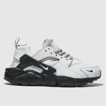 Nike Light Grey Huarache Run Unisex Youth