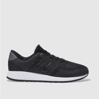 NEW BALANCE BLACK 420 TRAINERS YOUTH