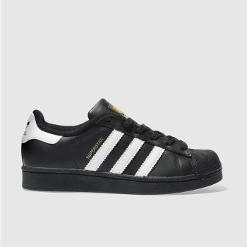 Adidas Black & White Superstar Unisex Youth#