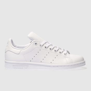 new concept 6be6a 35e13 Adidas White Stan Smith Unisex Youth
