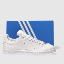 Schuh Kids Smith White Unisex Adidas Trainers Stan rUxYFqw4U