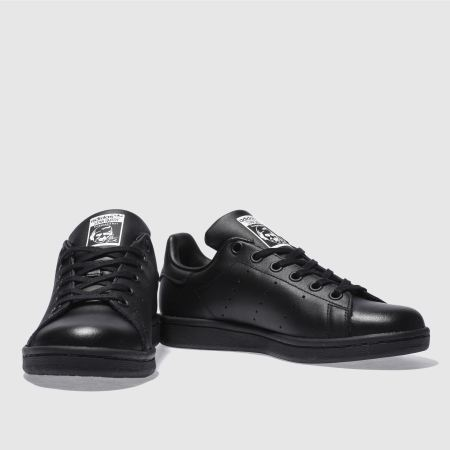 dcd8a730806 stan smith kids Black on sale   OFF51% Discounted