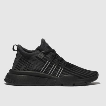 Adidas Black Eqt Support Mid Unisex Youth