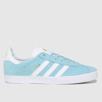 adidas Pale Blue Gazelle Yth Unisex Youth