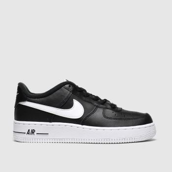 Nike Black & White Air Force 1 An20 Unisex Youth