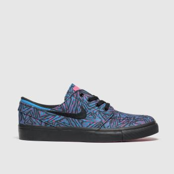Nike Sb Black and blue Stefan Janoski Unisex Youth