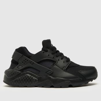 Nike Black Huarache Run Ultra Unisex Youth#