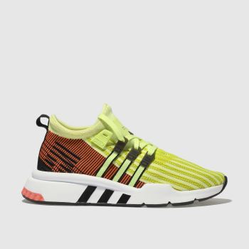 Adidas Yellow Eqt Support Adv Mid Unisex Youth