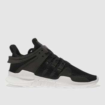 ADIDAS BLACK EQT SUPPORT ADV TRAINERS YOUTH