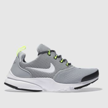 Nike Grey Presto Fly Unisex Youth