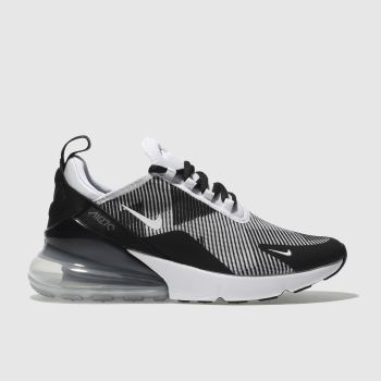 Nike White Air Max 270 Knit Unisex Youth