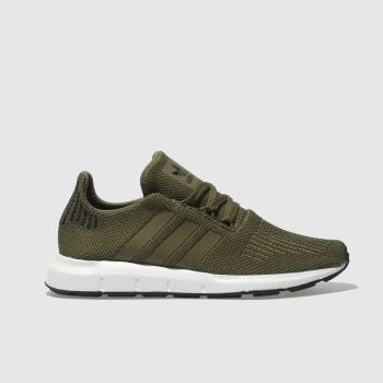 Adidas Khaki Swift Run Unisex Youth f66e14702