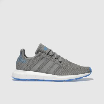 Adidas Grey Swift Run Unisex Youth