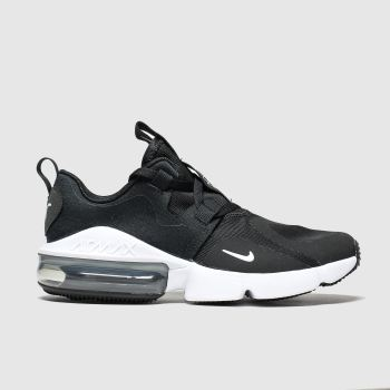 Nike Black & White Air Max Infinity c2namevalue::Unisex Youth