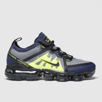 Nike Black & Grey Air Vapormax 2019 c2namevalue::Unisex Youth