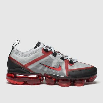 Nike Grey & Black Air Vapormax 2019 Unisex Youth