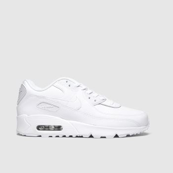 Nike White Air Max 90 Ltr Unisex Youth