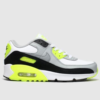 Nike White & Black Air Max 90 Ltr Unisex Youth